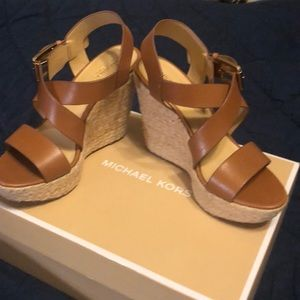 Michael Kors wedge.  Great condition.